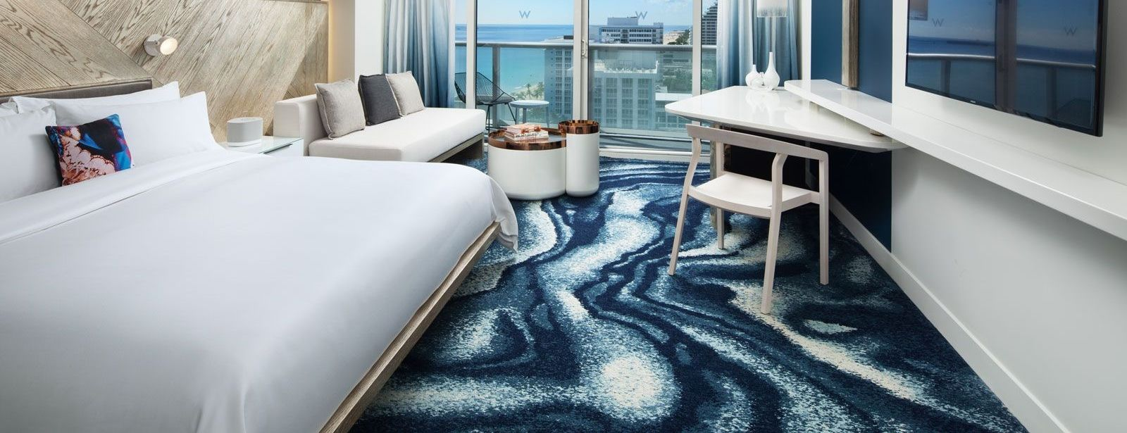 Spectacular Ocean View Guest Room | W Fort Lauderdale